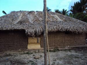 Casa onde pescador vivia tem dois cômodos e fica afastada do Centro de Pinheiro