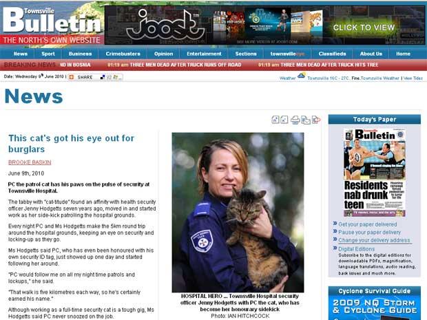 Jenny Hodgetts adotou PC  há sete anos.