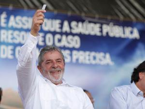 Presidente Lula durante cerimônia em Natal