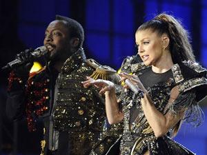 Black Eyed Peas durante show de abertura da Copa do Mundo