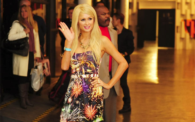 paris hilton spfw