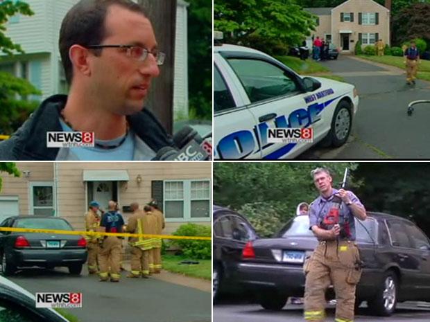 Luca DiGregorio chamou os bombeiros para salvar o amigo
