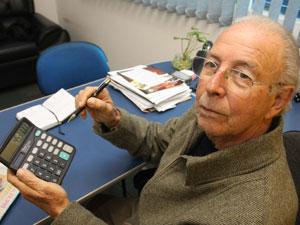 Benedito Marcílio, da federação dos aposentados, considera a desaposentação como alternativa ao fator previdenciário
