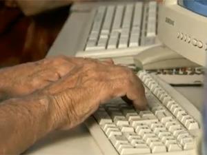 idosos na internet
