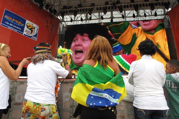 fifa fan fest - torcedores - copa