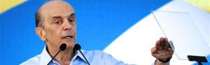 Serra é oficializado como candidato à Presidência e critica governo  (AFP)