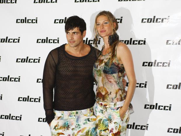 Gianecchini e Gisele