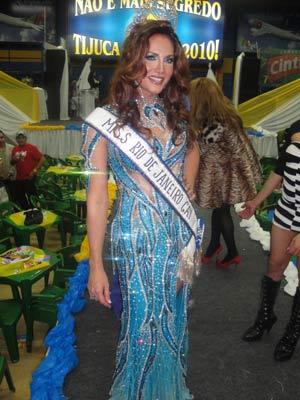 Miss Rio Gay Malu Pinheiro