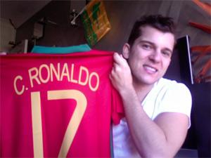 Fã de Cristiano Ronaldo