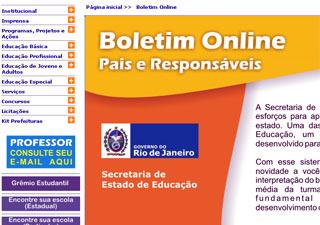 Agora não tem mais como os alunos esconderem as notas: pais podem acessar boletim na internet.