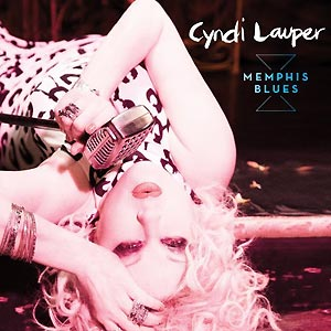 Capa do novo álbum de Cindy Lauper, 'Memphis Blues'