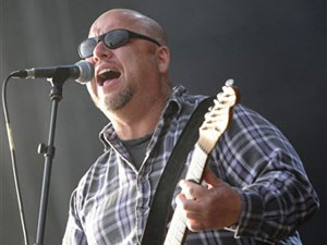 Frank Black, guitarrista e vocalista do Pixies.
