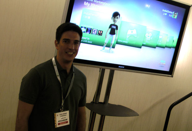 Guilherme Camargo deu detalhes sobre a rede Xbox Live no Brasil.