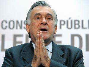 O ministro da cultura, Juca Ferreira, no dia 14 de junho