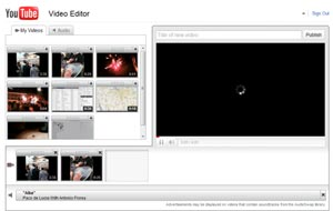YouTube editor on-line
