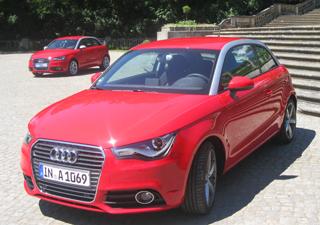 Audi A1  (Foto: Priscila Dal Poggetto/G1)