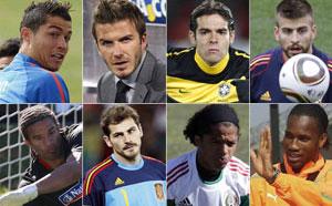 Revistas elegem 'musos' da Copa (Reuters)
