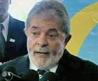 É 'estranho' SP não ter estádio apto, diz Lula (Reprodução/TV Globo)