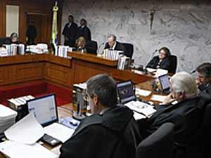 Sessão do TSE em que foi aprovada a validade da ficha limpa  para condenados antes da publicação da lei