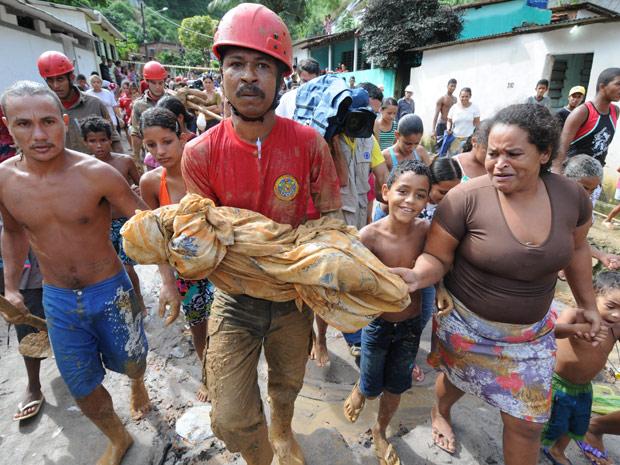 Corpo de bebê é encontrado no Recife