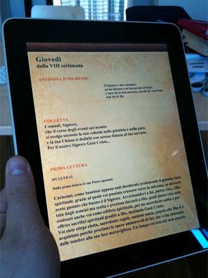 Missal para iPad