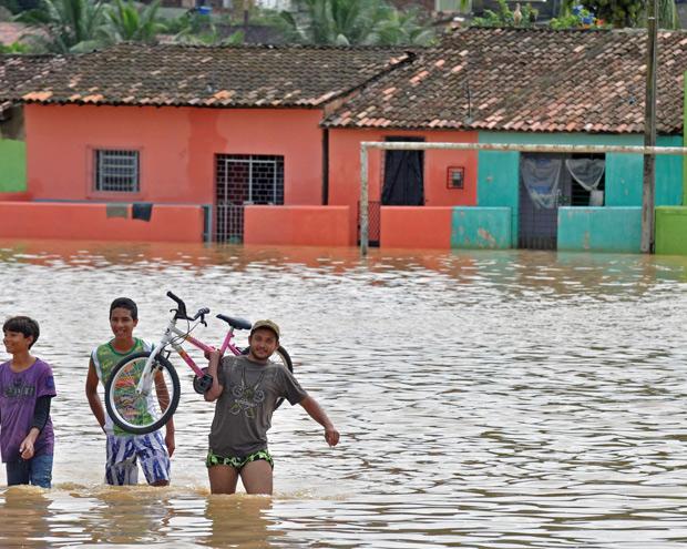 Chuva em Pernambuco