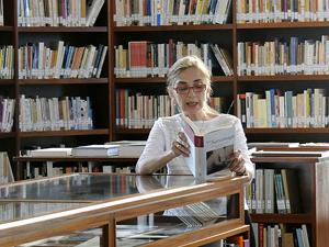 A esposa de Saramago, Pilar del Rio, leu um trecho de 'O evangelho  segundo Jesus Cristo' no velório do escritor