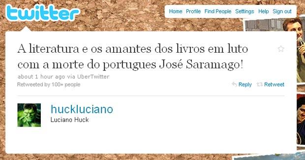 Saramago Huck