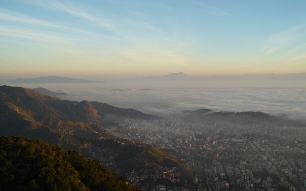 Nevoeiro no Rio