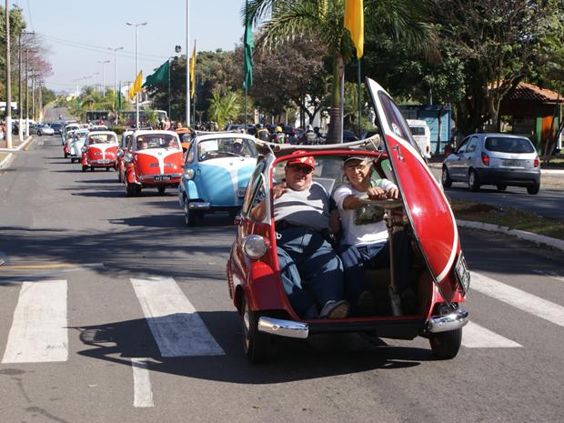 De Santa Bárbara d´Oeste sairam as Romi-Isettas para todo o país