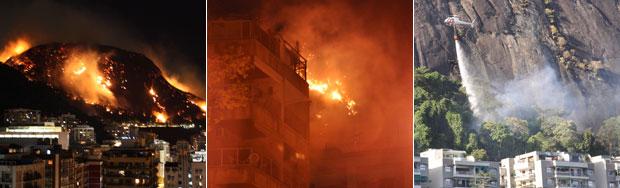 incêndio no Rio