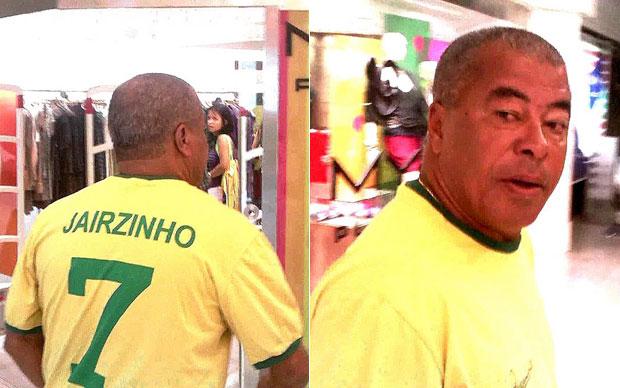 Jairzinho vestia a camisa com a camisa 7, número que ele usou em 1970