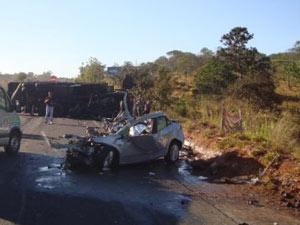 Acidente em Goiás deixou quatro mortos