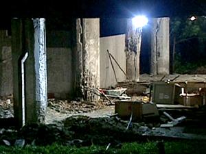 Abalo estrutural atingiu dois pilares do prédio anexo ao Hospital do Fundão