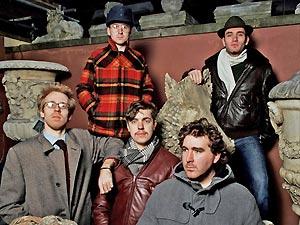 A banda inglesa Hot Chip