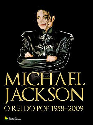 Imagem do livro 'Michael Jackson – O rei do pop, 1958-2009'
