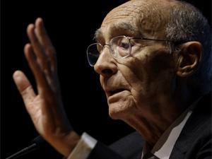 Veja imagens do adeus a José Saramago