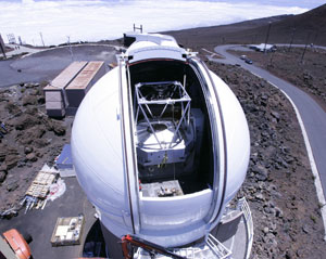 Objetivo do telescópio é encontrar 100 mil asteróides que podem ameaçar a vida na Terra.