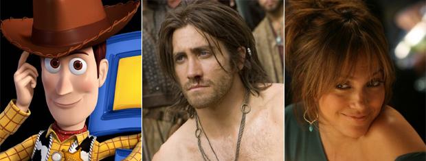 'Toy story 3', 'Príncipe da Pérsia' e 'Plano B': filmes  completam pódio das bilheterias.