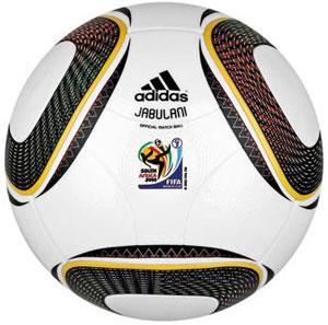 A bola da Copa 2010 virou uma das maiores atrações do torneio