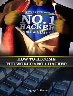 Capa do polêmico livro: Como se tornar o Hacker nº1 do mundo.