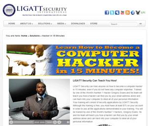 Curso da Ligatt Security: torne-se um hacker em 15 minutos.