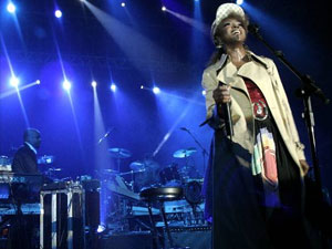 Lauryn Hill se apresenta em São Paulo em 2007