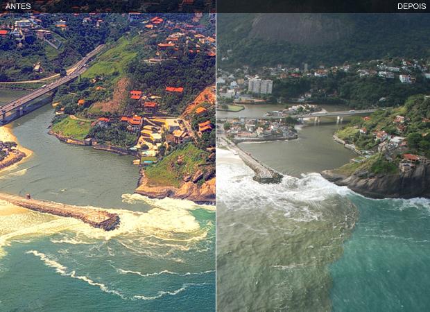 Antes e depois meio ambiente mario moscatelli