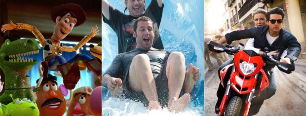 Prévia nos EUA mostra que 'Toy story 3' lidera as bilheterias neste fim de semana.