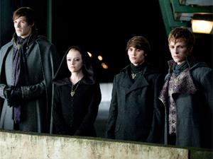 Integrantes do clã Volturi, em 'Lua nova'.
