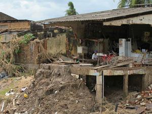 Chuva causou destruição em Murici (AL)