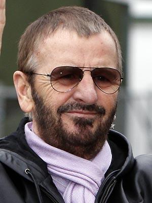O ex-baterista dos Beatles, Ringo Starr