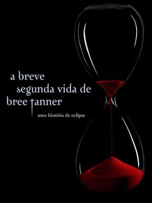 Detalhe da capa do livro 'A breve segunda vida de Bree Tanner'.