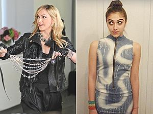 Madonna exibe coleção, criada por 'Lola'